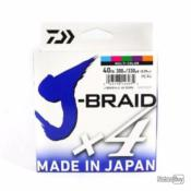 Tresse Daiwa J-Braid X4b Multicolore - 300m